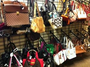 The Handbag selection is incredible!
