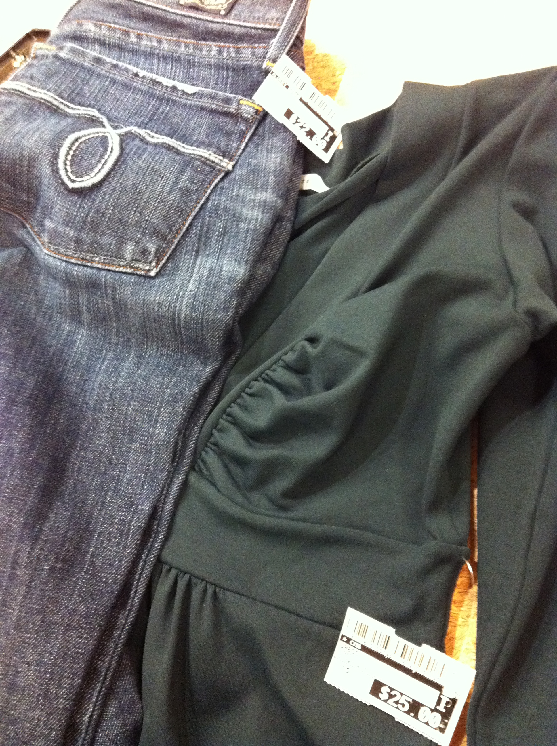 Lucky Jeans And Susanna Monaco Dress