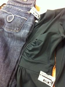 Lucky Jeans and Susanna Monaco Dress