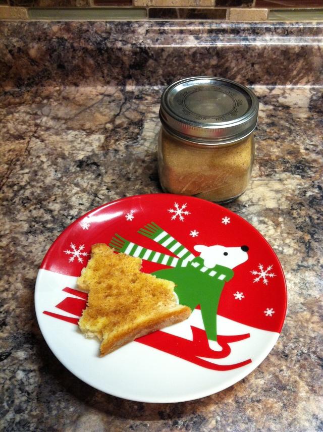 Udis Christmas cinnamon toast