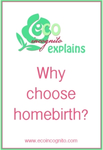 Eco Incognito explains homebirth baby