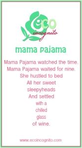 mama pajama poem