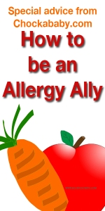 Eco Incognito and Chockababy pair up to explain how to be an Allergy Ally