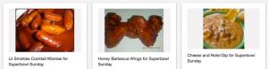 superbowl foods