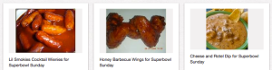 superbowl foods