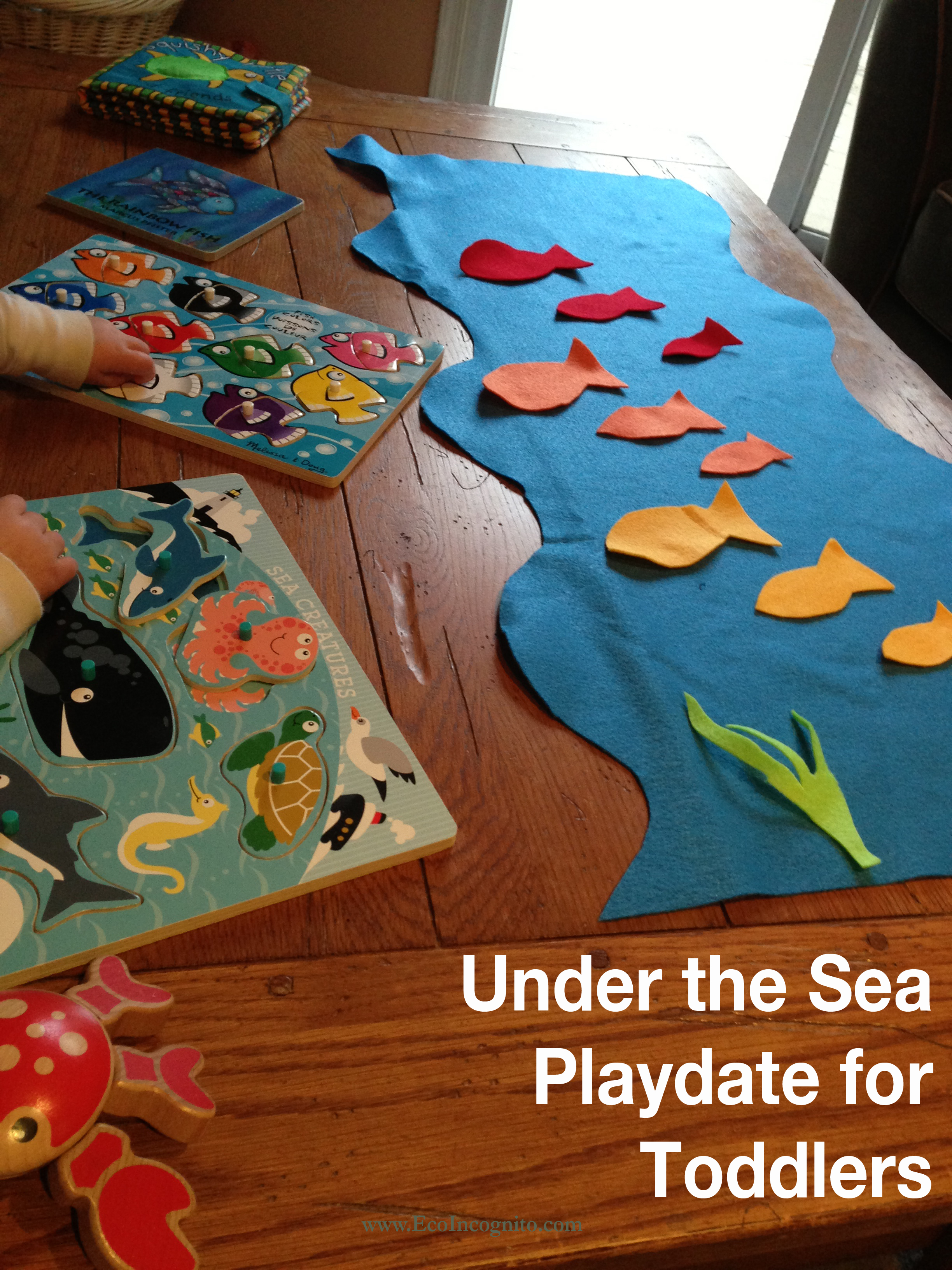 Fish Inspired Toddler Activity Eco Blog Mom Blog Philadelphia