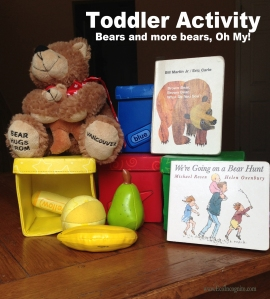 toddler activity bears