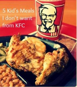 kfc kid's meals
