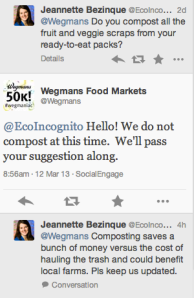 benefits of composting wegmans
