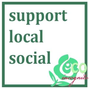 support local social media